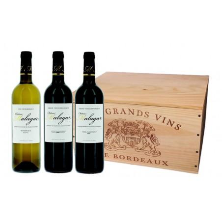 Caisse découverte Bordeaux-Côtes de Bordeaux